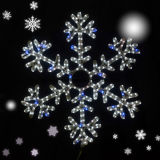 LED Christmas Time Decoration Light Light Flake Flakes