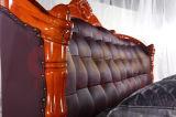 ベッドデザイン2817付きの高品質の木のソファー