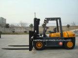 Chariot élévateur diesel diesel de chariot gerbeur de 7 tonnes 7 tonnes