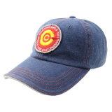 Gorra de béisbol de encargo del algodón del bordado de los paneles de la manera 6