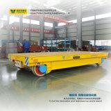 Carro material dirigido automático de la transferencia carretilla del carril de 10 toneladas