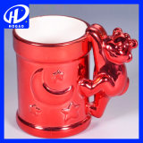 420ml漫画の陶磁器のミルクのマグのコーヒー・マグのティーカップのかわいいオフィスのマグのクリスマスのギフト