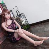 Hot sexe fille 140cm Poupées poupées en silicone plein squelette adulte sex toy Jl140-03