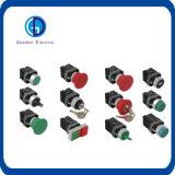 Tasto di arresto Emergency di Xb2/Lay37/Lay38 1no1nc/interruttore di pulsante meccanico momentaneo del LED 220V