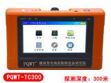 Machine portative de détecteur de l'eau souterraine traçant le détecteur de l'eau