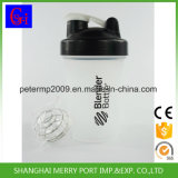 Stainessの鋼球が付いているカスタム蛋白質のシェーカーのコップを測定する安いプラスチックコップ
