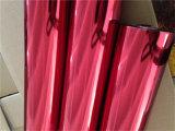 impression chaude de roulis de clinquant d'estampage de gloire royale rouge de 0.64m*120m pour l'emballage