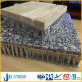 Base de aluminio del panel del panal del granito adentro para la decoración