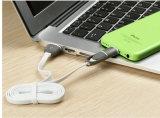iPhone, iPad, Samsung 및 인조 인간을%s 마이크로 USB 연결관 책임 그리고 Sync에 USB 케이블에 8개의 Pin 번개