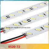 72 SMD LED 8520 Bande LED rigide en aluminium
