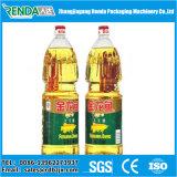 El frasco de cristal / botella PET de la máquina de llenado de aceite de cocina