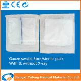 Tampone di consumo medico della garza per uso dell'ospedale con i raggi X