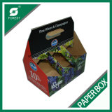 Botellas de cartón corrugado de 6 paquetes de cerveza al por mayor de portadores de embalaje