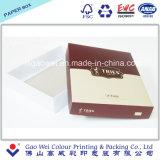 Dos pedazos del rectángulo de papel plegable