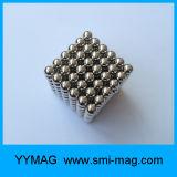Bolas magnéticas del neodimio de la alta calidad 5m m Neocube determinado para la venta