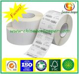 Papier thermosensible (80X80mm, 80X70mm, 57X70mm, 57X50mm