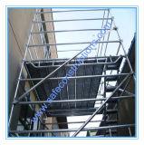 Ce système approuvé Layher échafaudage pour la construction.
