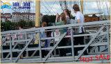 Gute Qualitätssich hin- und herbewegendes Dock-Yacht galvanisierte Stahlpassage-Strichleiter hergestellt in China