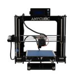 В полностью собранном виде, построить пластина с автоматическим выравниванием 3D-принтер с помощью 210 мм x 205 мм