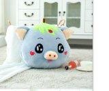 jouet chaud de peluche de porc de main de l'hiver de 40*40cm