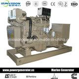 Основной тепловозный комплект генератора 350kVA, двигатель Cummins морской с Nta855-Dm