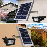 4W à LED solaire d'inondation de la rue d'éclairage jardin lumière