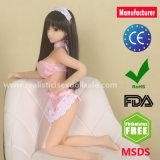 65cmの最上質の実物大のシリコーンの実際の性の人形