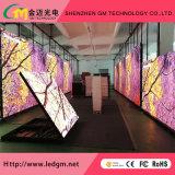 P5.95 muoiono il comitato esterno locativo dello schermo di visualizzazione del LED delle fasi della fusion d'alluminio LED