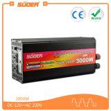 Suoer 3000W 12V off Grid Auto Power Inverter com carregador (HDA-3000C)