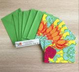 Salutation Notecards de papier d'imprimerie avec des enveloppes