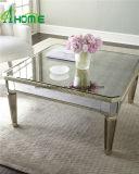 Sala espelhada moderno mobiliário mesa de café