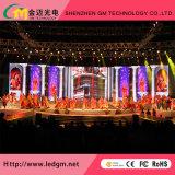 L'Afficheur LED/écran de location de publicité d'intérieur du moulage mécanique sous pression 3.91mm pour la location