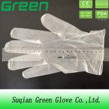 Polvere sicura a gettare libera o colorata dei guanti del vinile dell'alimento libera