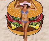 Полотенце пляжа мягко новой конструкции Microfiber круглое, полотенце пляжа поставщика Китая дешевое круглое