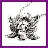 رخيصة سبيكة مجوهرات قوّيّة [هيفوب] نجم جمجمة مدلّاة عقد