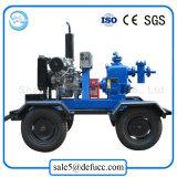 Auto che innesca la pompa di fango centrifuga con il motore diesel