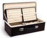 Коробка ювелирных изделий верхнего сегмента кожаный для хранения и индикации