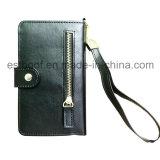Мешок и случай телефона PU бумажника кожаный