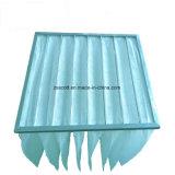 Нетканого материала мешок фильтра алюминиевая рама для фильтрации воздуха