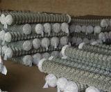Гальванизированные штуцеры загородки звена цепи, временно столбы загородки звена цепи