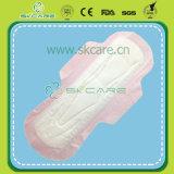 Пусковая площадка санитарных салфеток OEM ультра мягкая санитарная с сухим поверхностным изготовлением