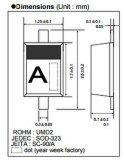 Elektronisches Bauelement der Schaltungs-Diode 1ss355vmte-17 für gedruckte Schaltkarte