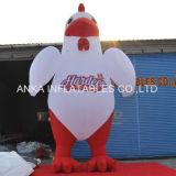 Prodotto a base di pollo gonfiabile gigante del fumetto