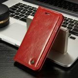 Роскошное кожаный iPhone 8/8plus аргументы за сотового телефона бумажника