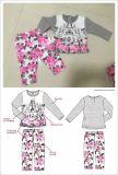 子供のスポーツの摩耗の赤ん坊のパジャマはスクエア17108に着せる