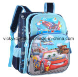 Saco de escola do Schoolbag do ombro do dobro da qualidade dos desenhos animados das meninas dos meninos (CY3328)