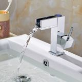 Flg temperaturgeregelter LED Hahn-Wasser-Hahn-Bassin-Hahn