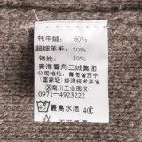 Mn01489 y lana de Yak y Lylon mezclado Jersey de punto de los hombres