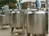 Serbatoio rivestito di raffreddamento del serbatoio del pastorizzatore in lotti del serbatoio di putrefazione del pastorizzatore del latte