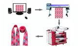 مرس/[شولس]/حزام سير تصميد طباعة مع وشاح خاصّ دوّارة حرارة صحافة آلة